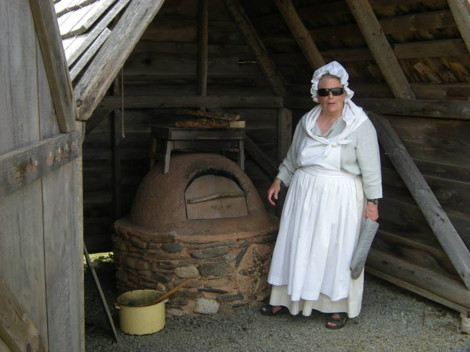 "This is a reconstruction of an authentic oven of the type used by the Acadians. It is made of ""bousillage"", or cob, a mixture of clay, straw and gravel or coarse sand and was used to bake everything from bread to cookies. Visit during a festival and be sure to try some bannok from the oven."