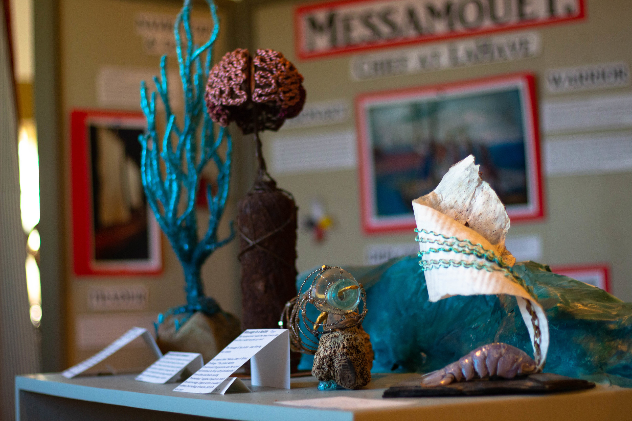 The museum strives to celebrate a wide range of of LaHave heritage. Special summer exhibits often showcase local artisans and their unique maritime influenced art.