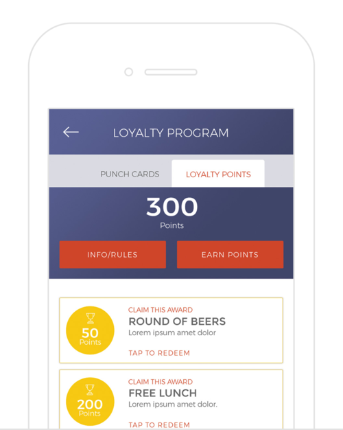 Golf Course Loyalty Programs - Simple to setup, and easy for your customers to use. Customize multiple loyalty programs all tracked right through your app. Drive loyalty revenue for golf, F&B, lessons, merchandise, and much more.