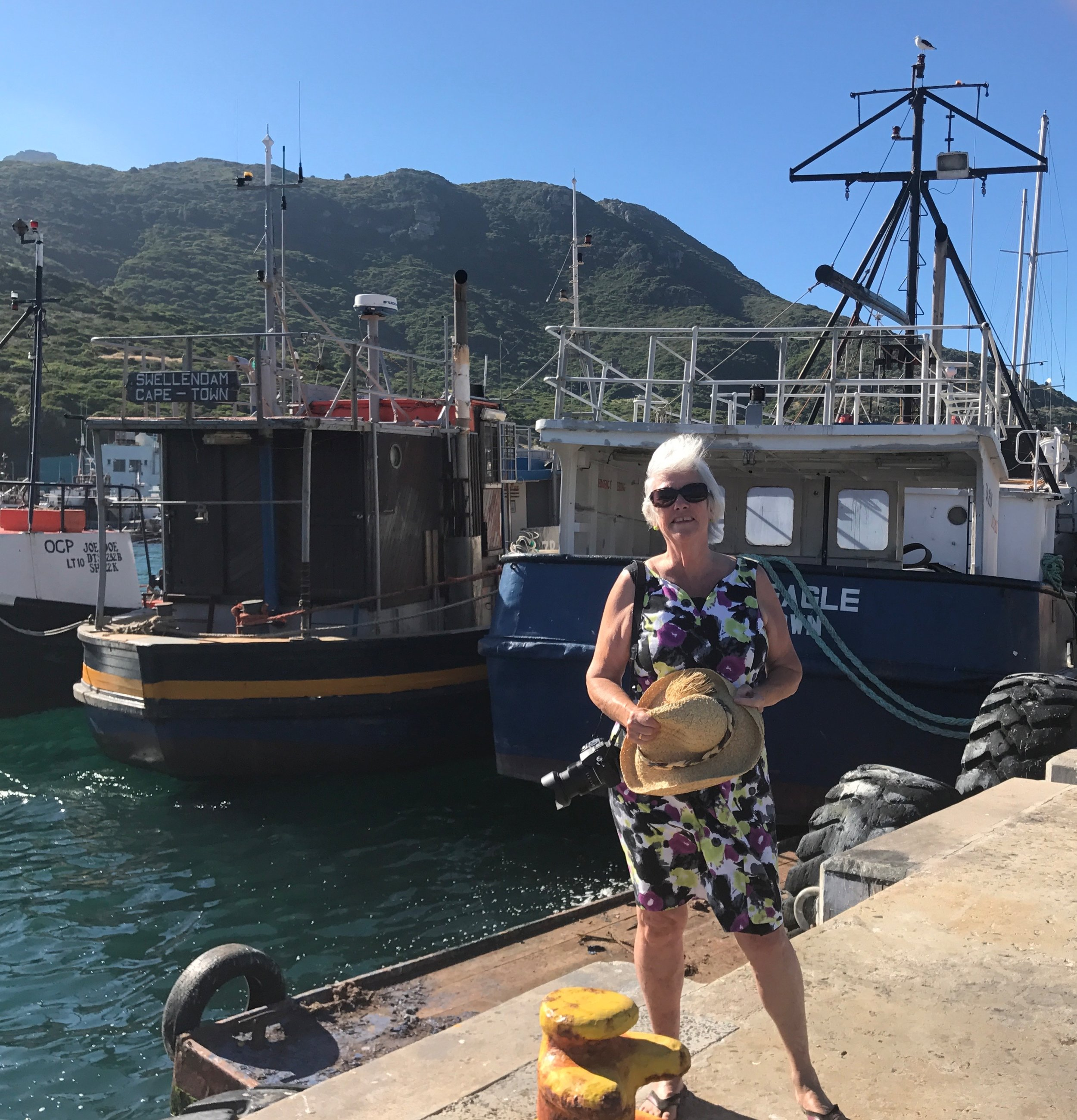 On the dock in Hout Bay