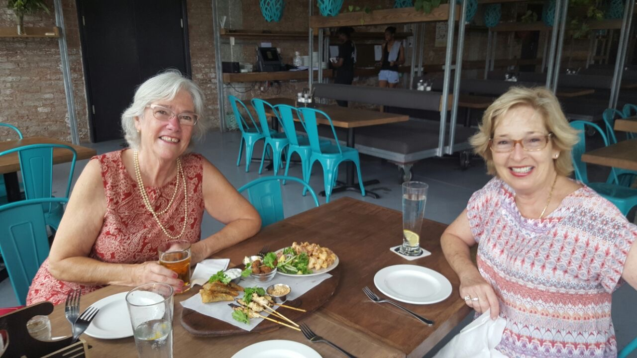 Rosemary and me at Durban Distillery