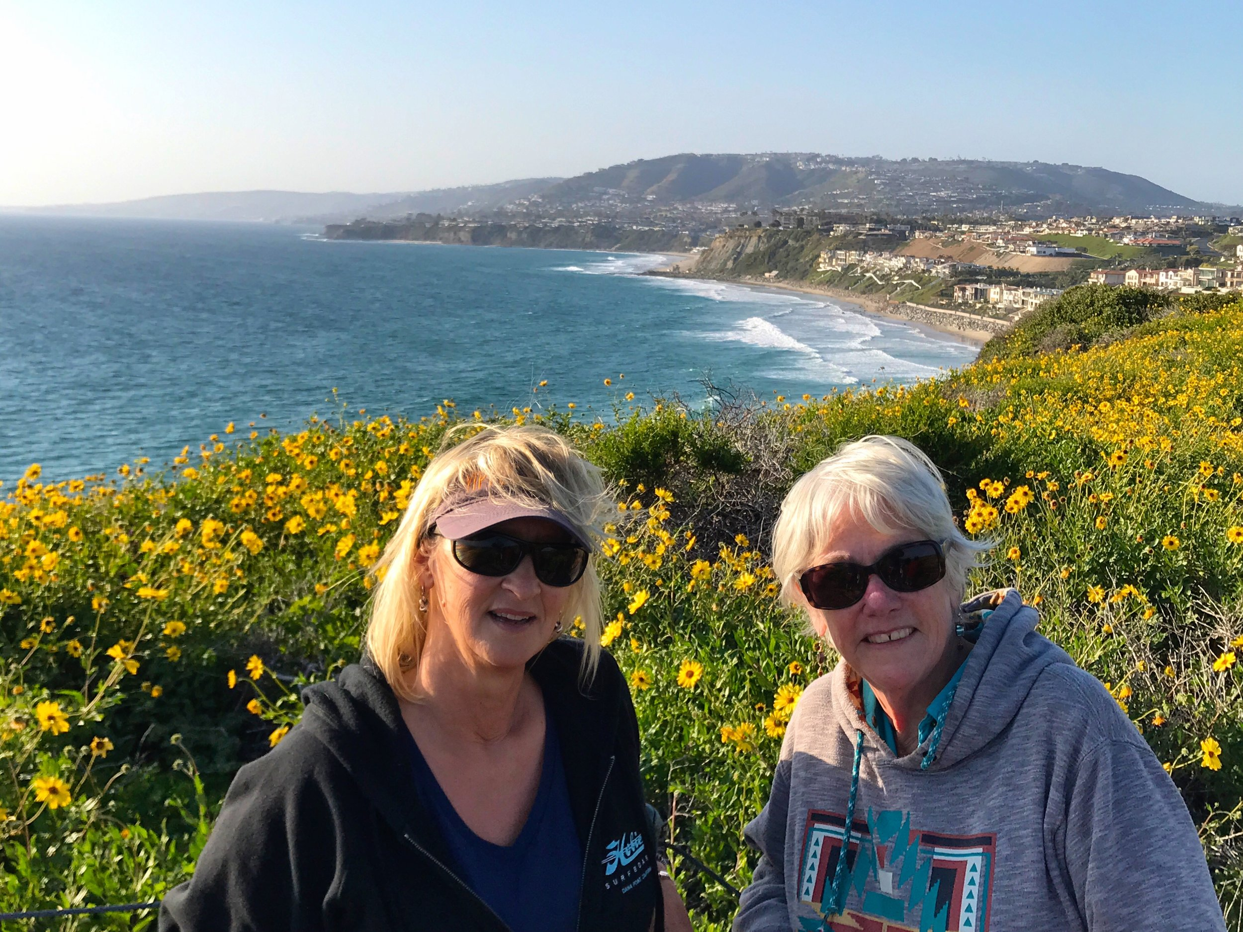 Back in SoCal with Betsy in Dana Point