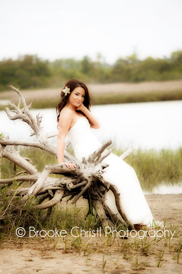 bridal portraits north myrtle beach