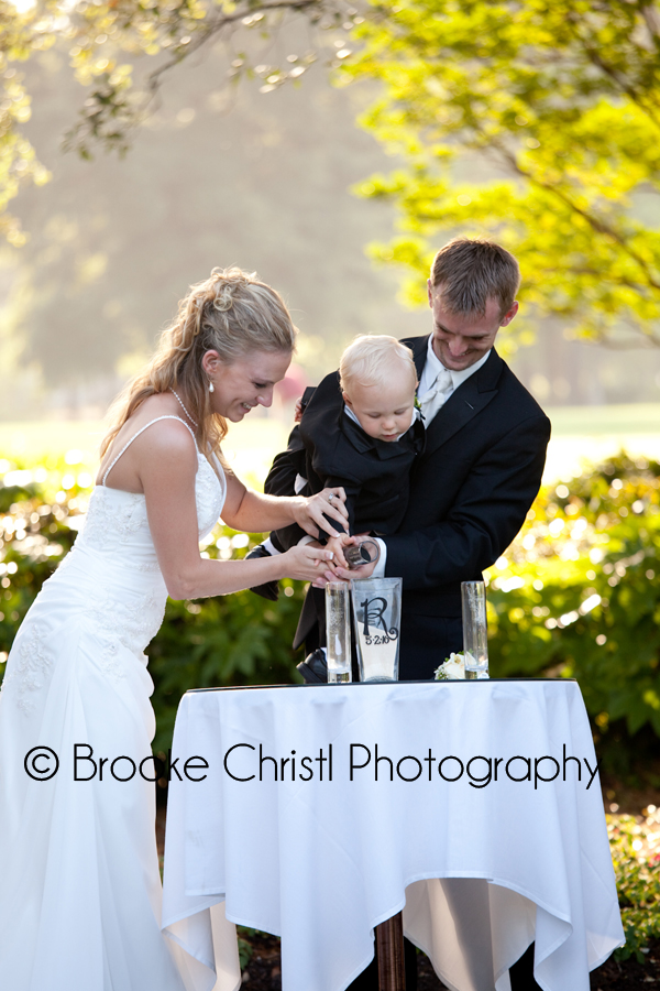 ceremony at litchfield country club