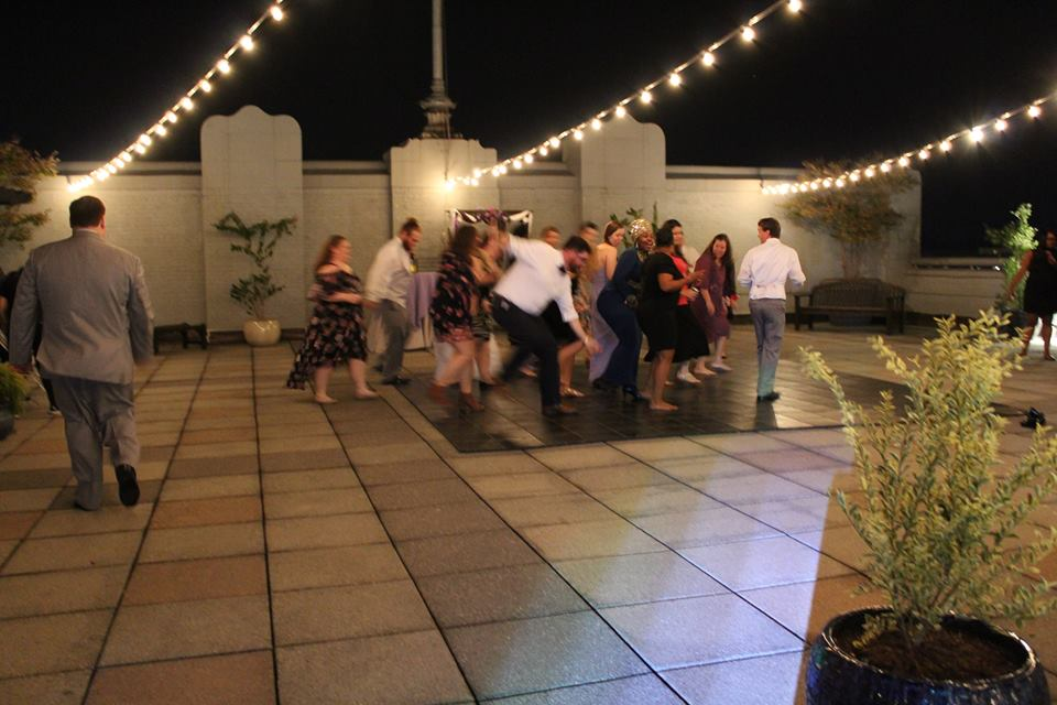 Wedding at Kress Terrace Greensboro