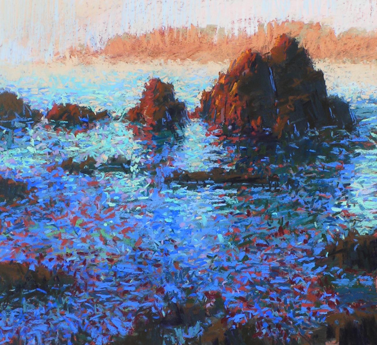 Carmel Beach Impression