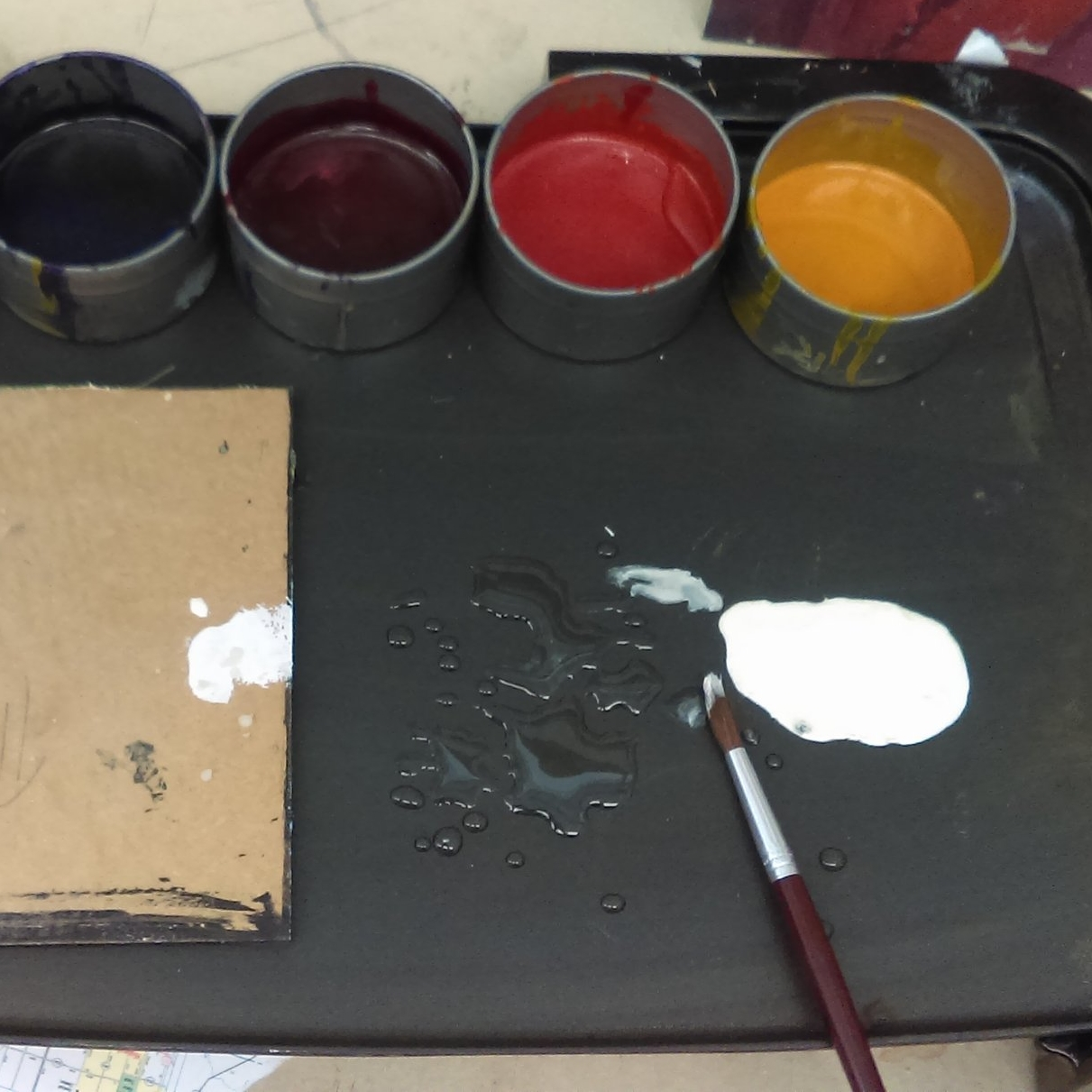 Meet the Media - Encaustics,Watercolor,Pastels,Oils Or Acrylics.I bring everything, you come play with supplies and a new experience.
