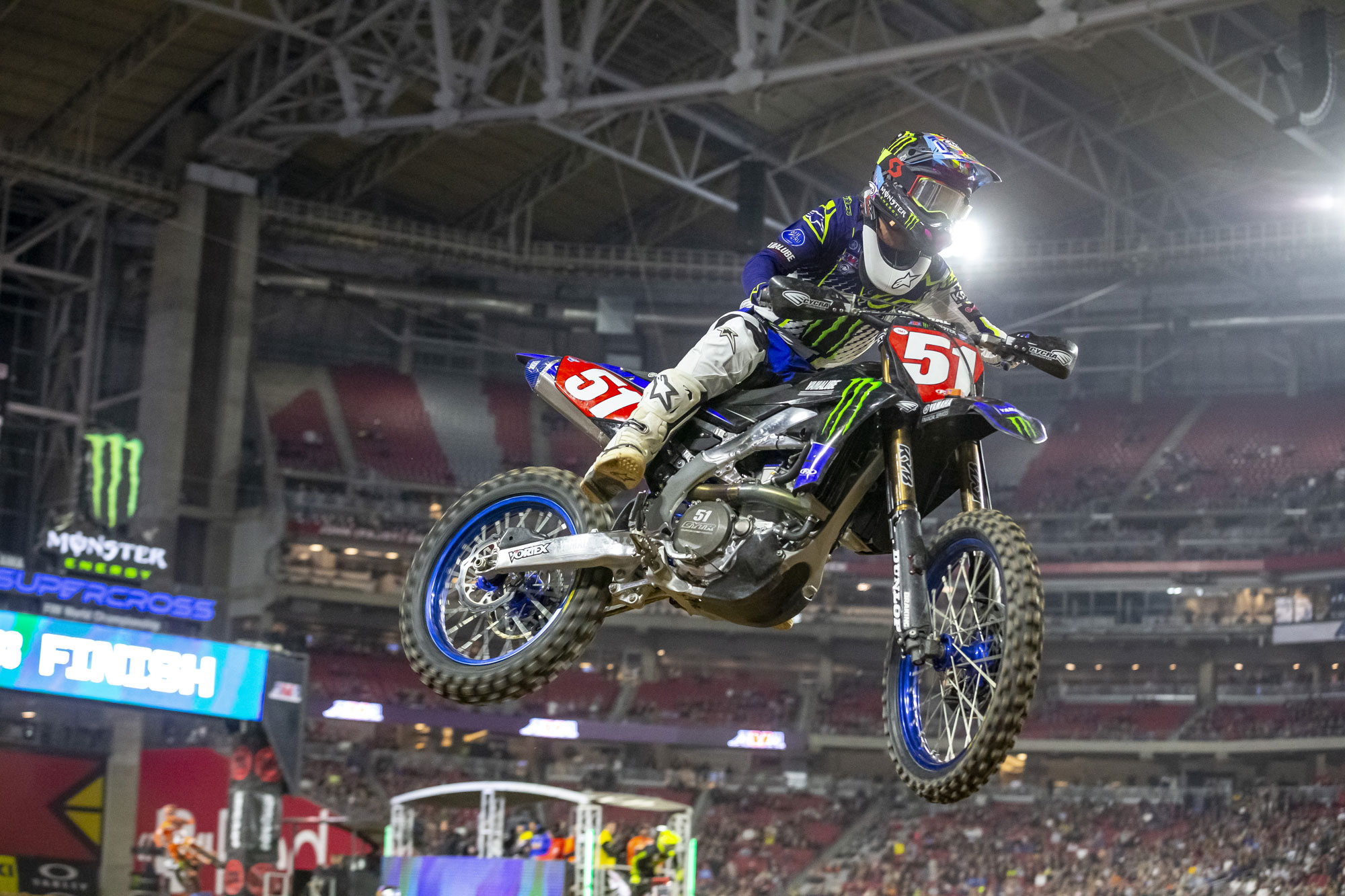 Monster Yamaha's Justin Barcia finished 6th