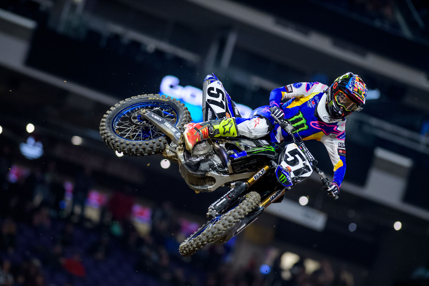 Justin Barcia took 2nd in his heat race and finished 9th in the main.