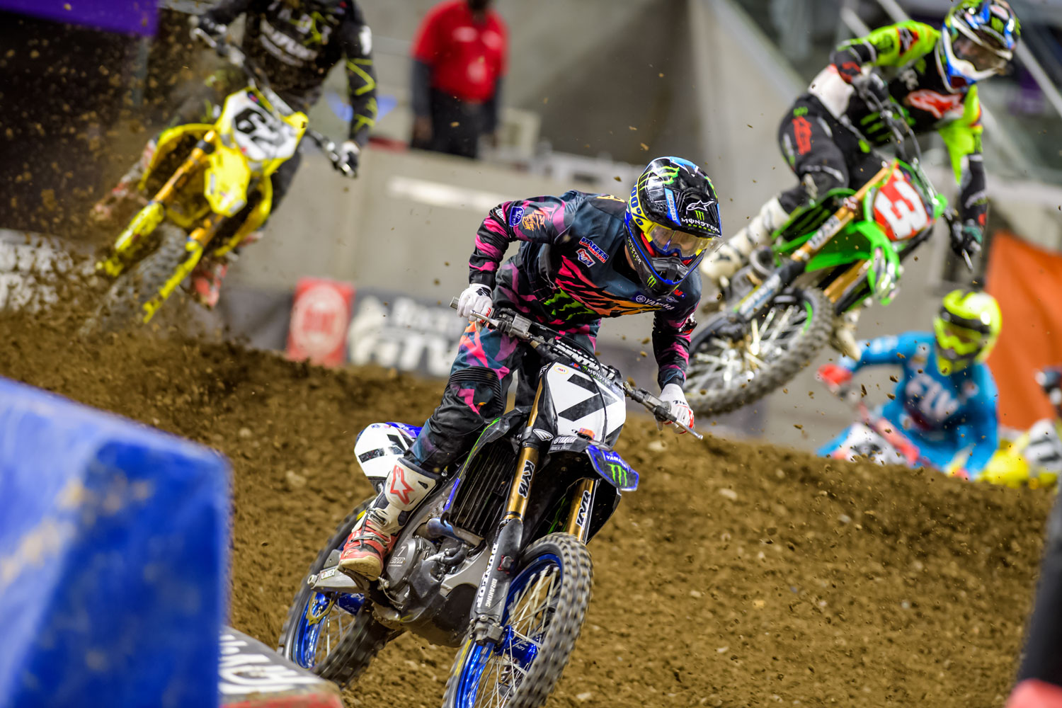Plessinger took 4th in his heat race and 10th in the main.