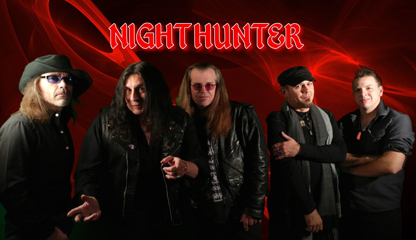"NIGHTHUNTER  US Heavy Metal Band featuring members of Attacker, Savior From Anger, Vatican and Homicide Black!  Debut album ""NIGHTHUNTER"" coming in 2018!"