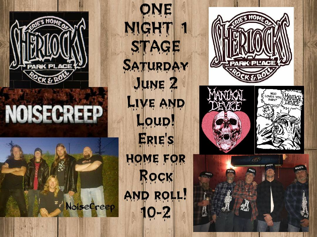 We are a rock band playing you fav tunes from yesterday and today with a solid lineup of great musicians from Erie PA. Coming soon to a venue near you!!!!!