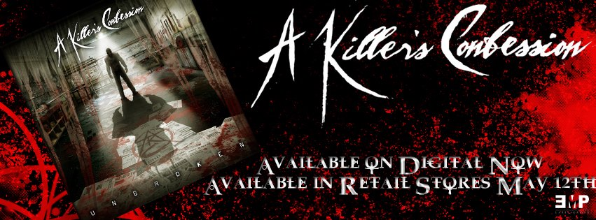 "A Killer's Confession (AKC) is led by vocalist Waylon Reavis. The critically acclaimed debut album ""Unbroken"" Available now via EMP Label Group.  2016 Stone Chrome Radio Listener Choice Award Breakout Band Of The Year, 2017 Rock Rage Radio Album of the Year ""Unbroken"", 2017 Rock Rage Radio Song of the Year ""Angel on the Outside"", 2017 Rock Rage Radio Video of the Year ""Rebirth"", 2017 Rock Rage Radio Drummer of the Year ""Jon Dale"", 2017 Rock Rage Radio Guitarist of the Year ""Matthew Trumpy"" , 2017 Rock Rage Radio Bass player of the YEAR ""JP Cross"", 2017 Rock Rage Radio Lead singer ""Male"" of the Year ""Waylon Reavis"""