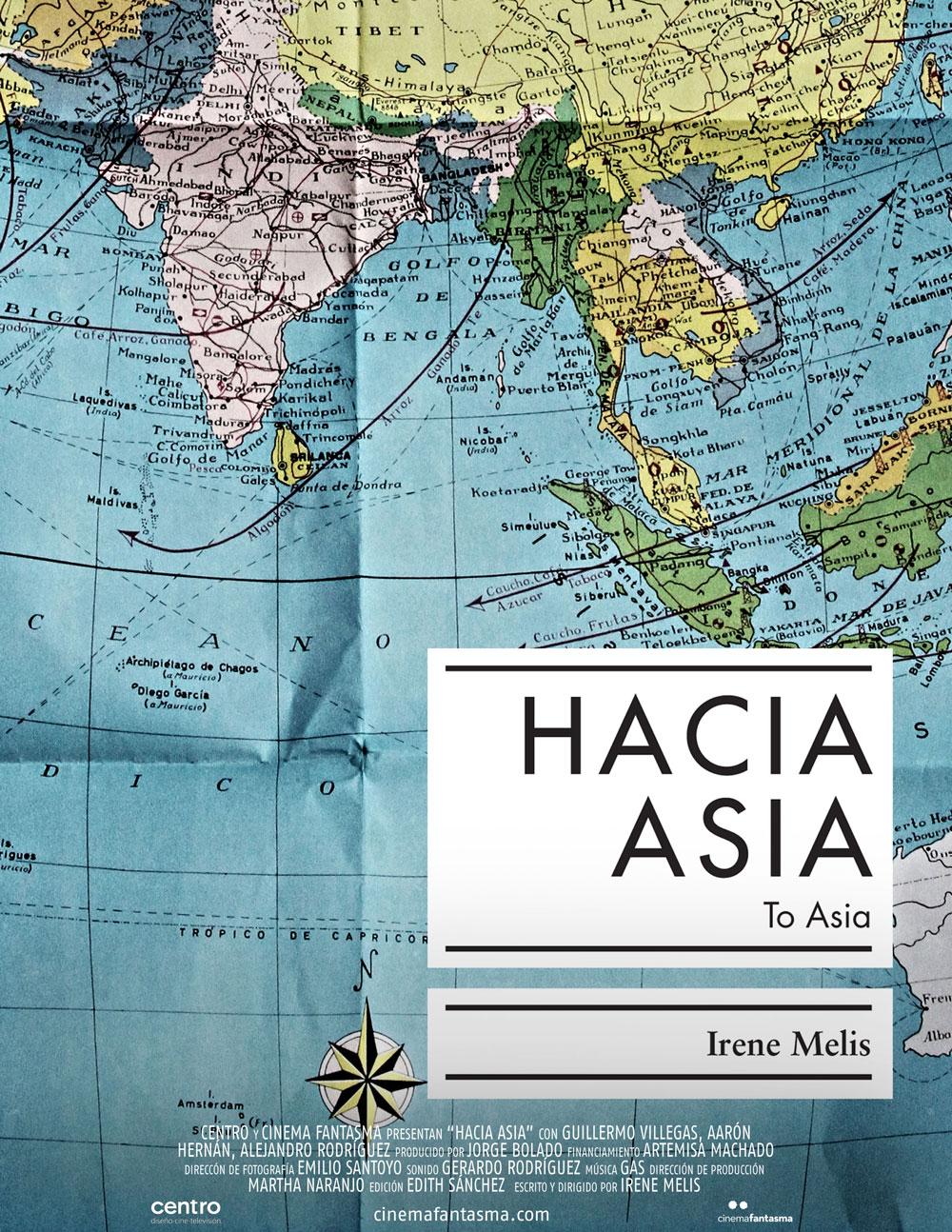 Póster de  Hacia Asia.