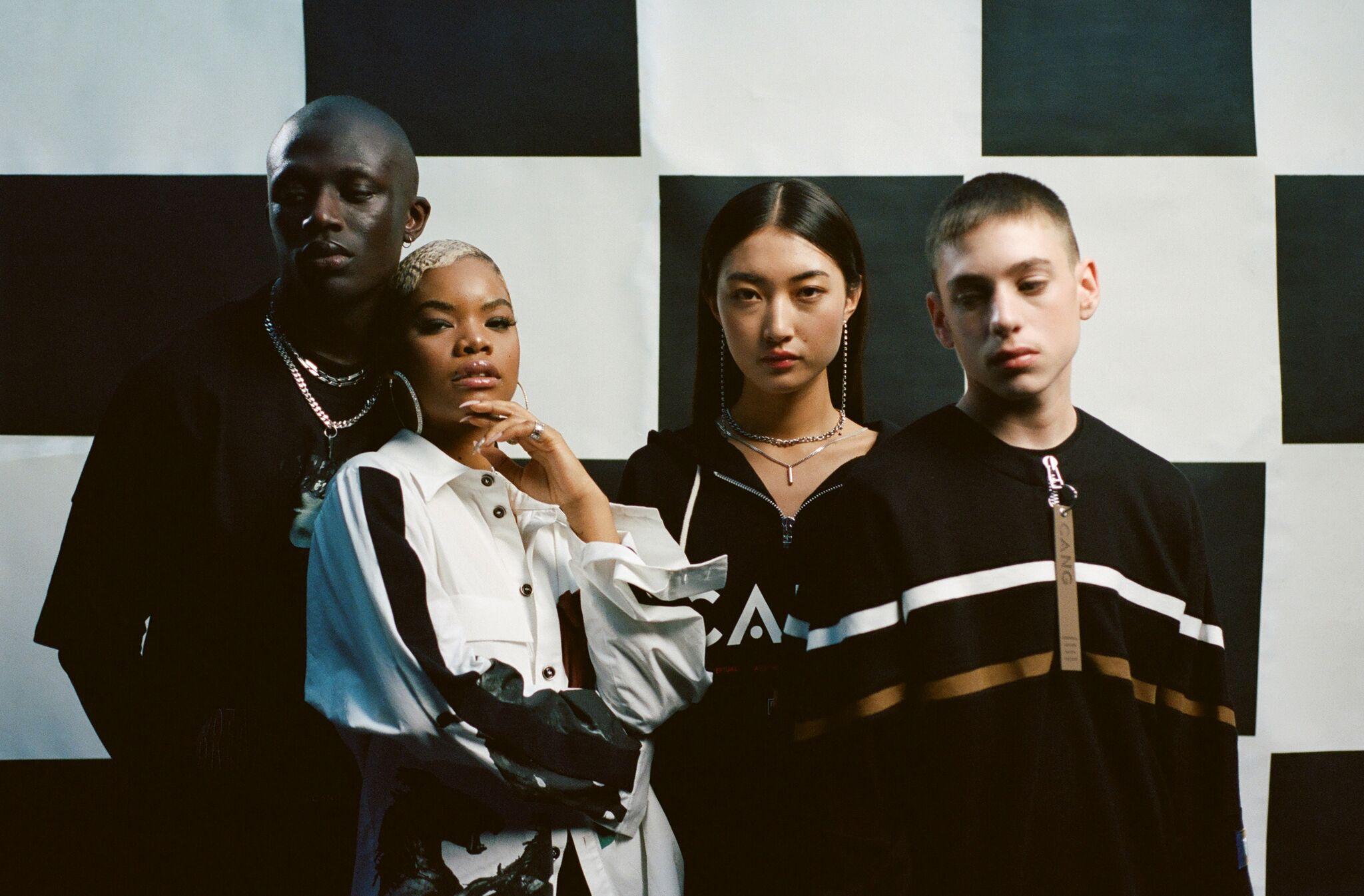 Photography: Joshua Osborne    Models: Abdourahman Njie, Kauai Sziraki, Tia Xiao & Clausia Deoliveira