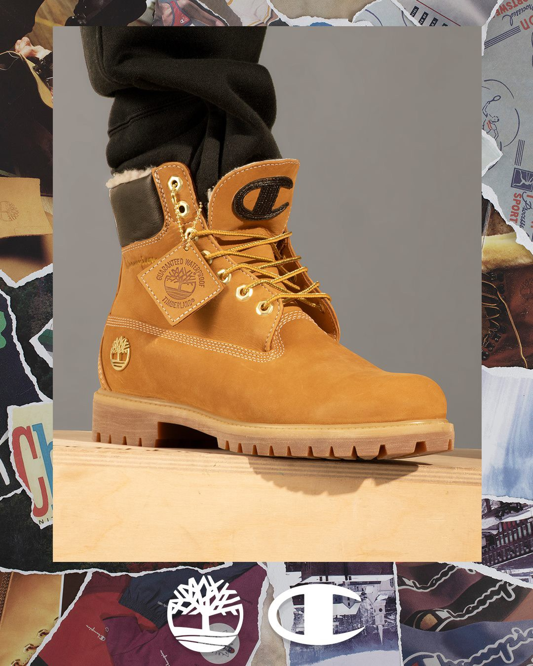 BLAIZED UK The Drops - Timberland & Champion Join to
