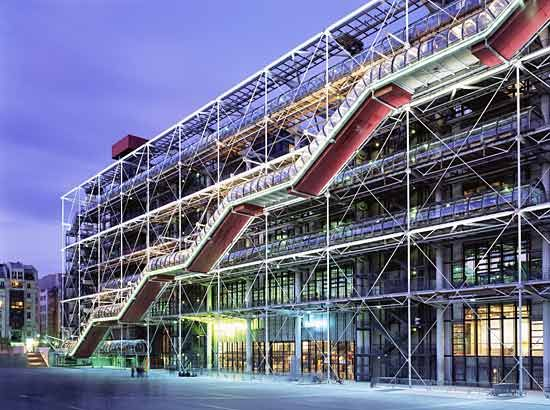The Pompidou Center in Paris Tinkers inspiration for the air max 1