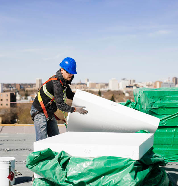 Advantage Roofing project expertises