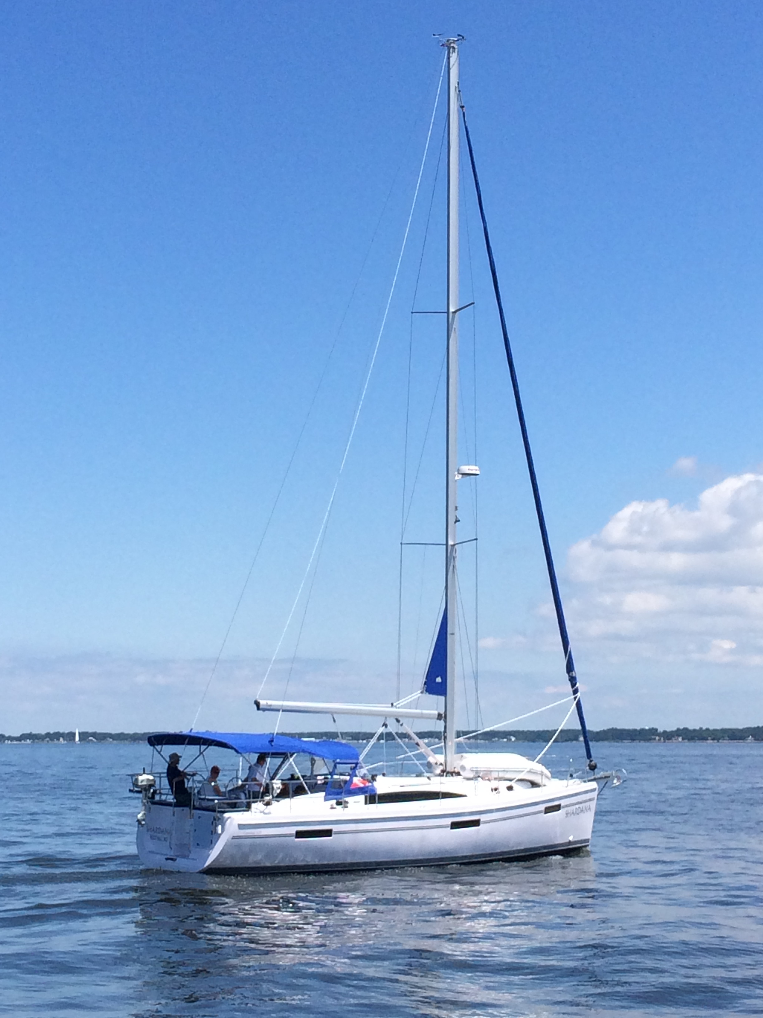Sailing Chesapeake Bay