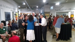 Over 100 people attended the campaign kickoff in June!