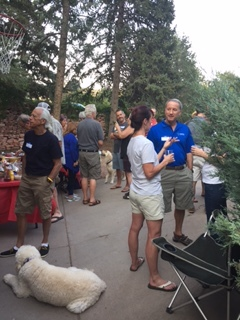 Ken and Sandy host a block party!