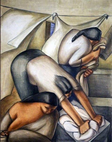 Lavanderas (1939, Germania Paz y Miño