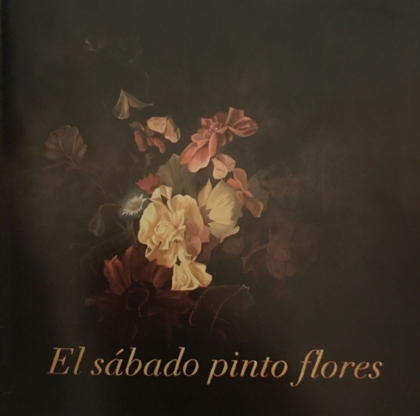 El sábado pinto flores  , Patricia Meir Acrílico y óleo sobre tela 180 x 180 cm. 2005
