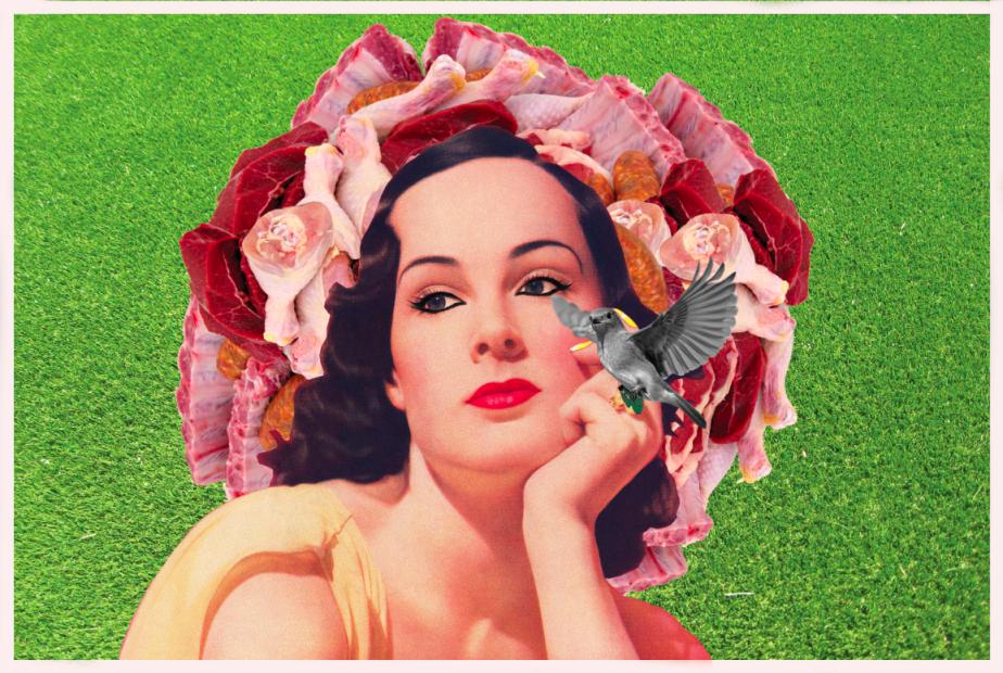 La corona de la creación #1, Marcela Ribadeneira