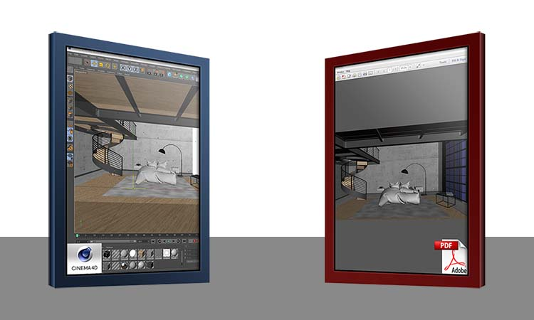 4D Publish - Export your 3D models to 3D PDF documents. Design and create multi-page interactive 3D PDFs complete with object and camera animations. Password protection and more…