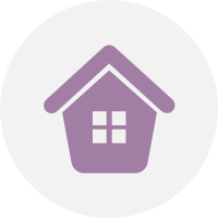 House Icon for Home Practice