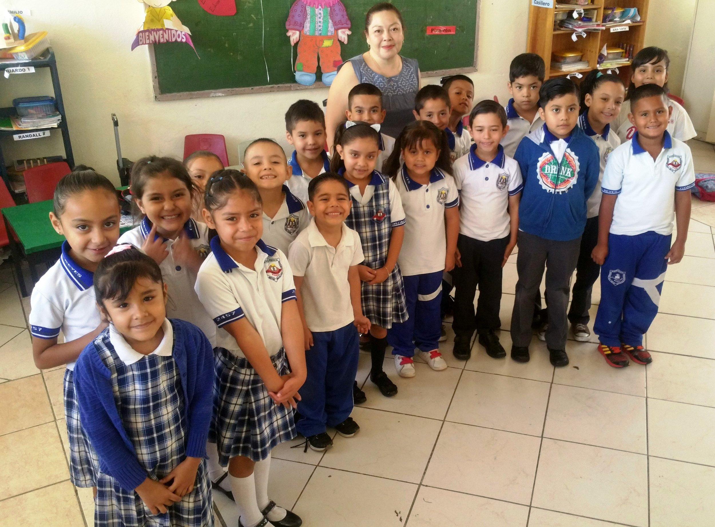 1st Grade A Teacher Verónica Fontes Aguilar