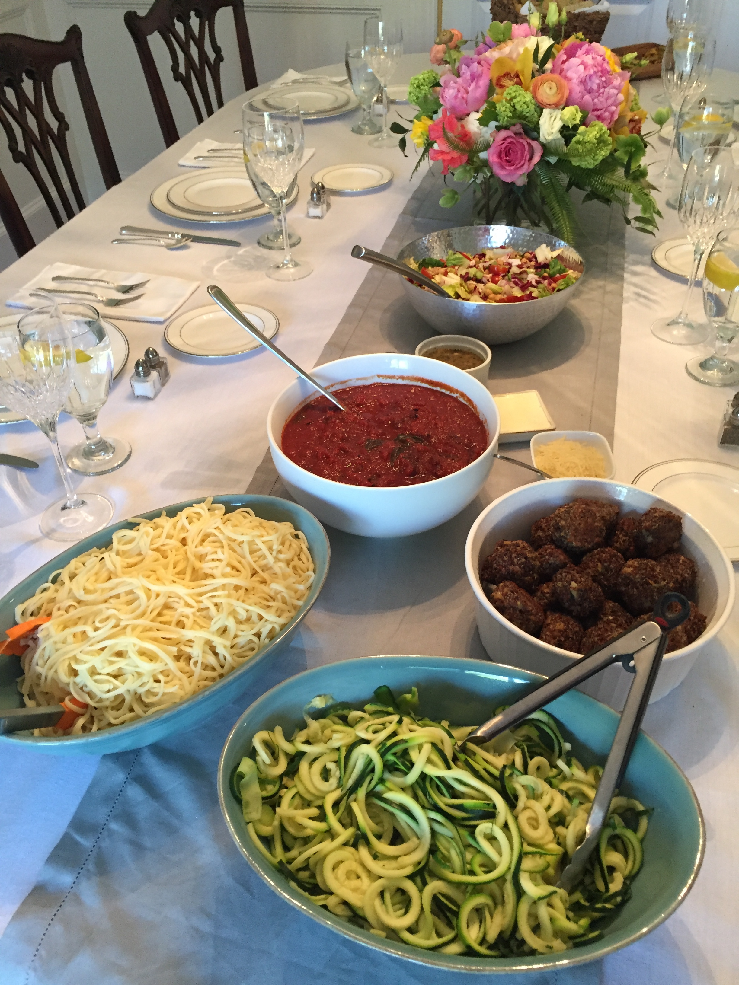 Italian Meal for a party