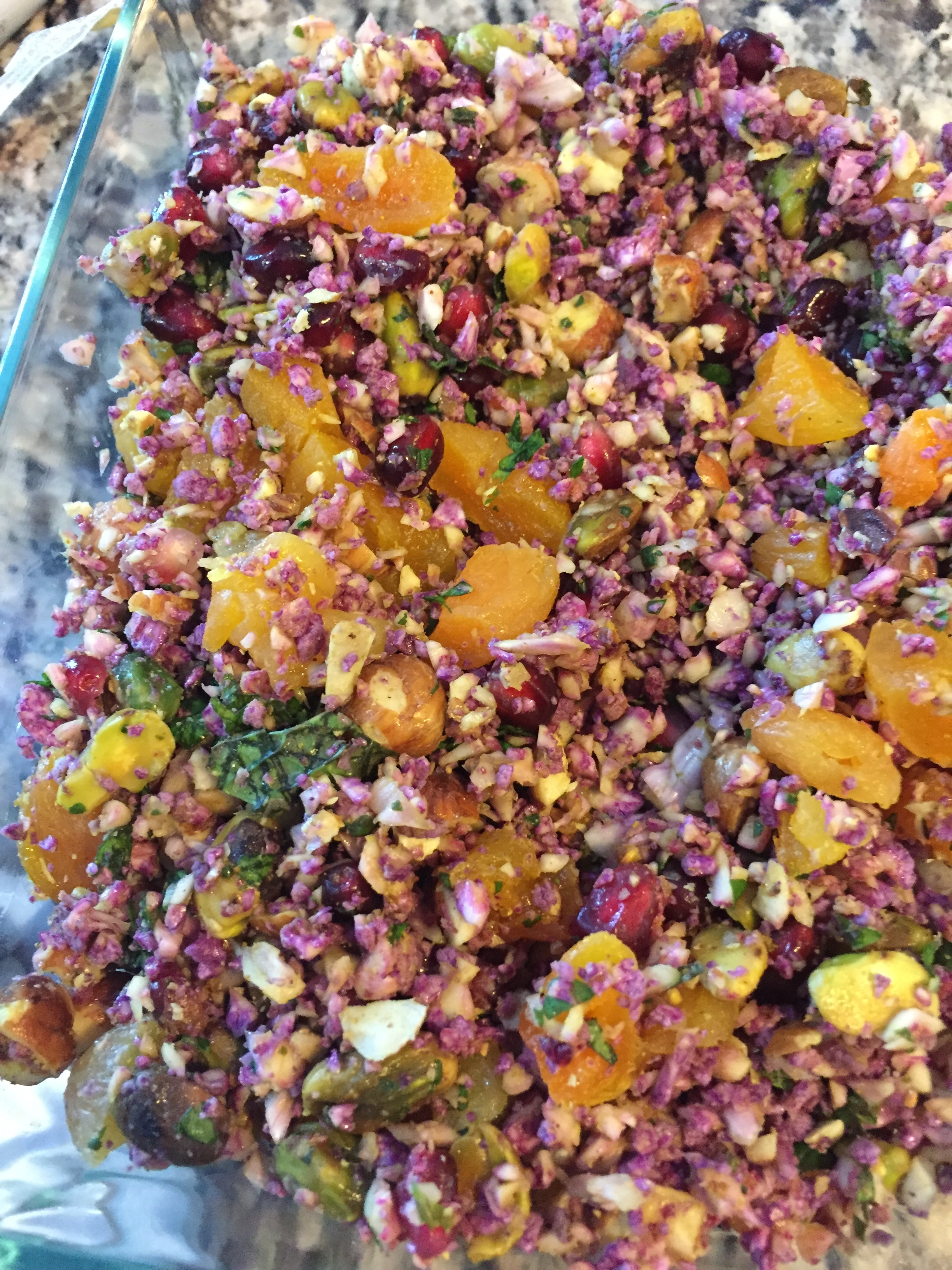 Vegan Fruity Cauliflower Crunch Salad