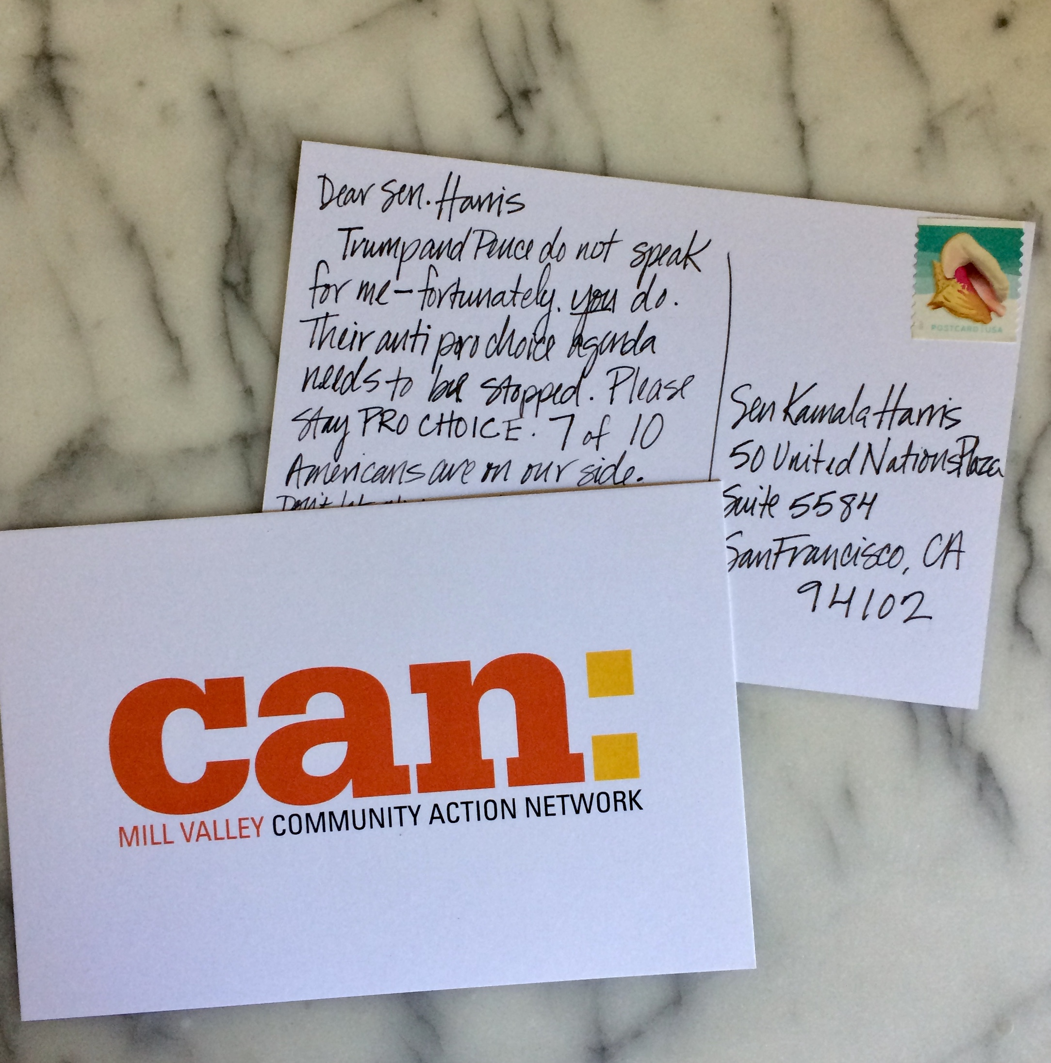 Write to your MOC and feel better.