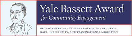 Yale Bassett Award Semi-Finalist - May 2018Honoring high school juniors who have distinguished themselves through a record of creative leadership and public service, academic distinction, interdisciplinary problem solving, and experience addressing societal issues. 1 of 20 out of over 970 applicants to receive commendation.
