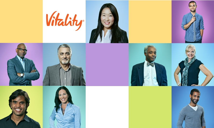 Portrait Campaign for Vitality     -