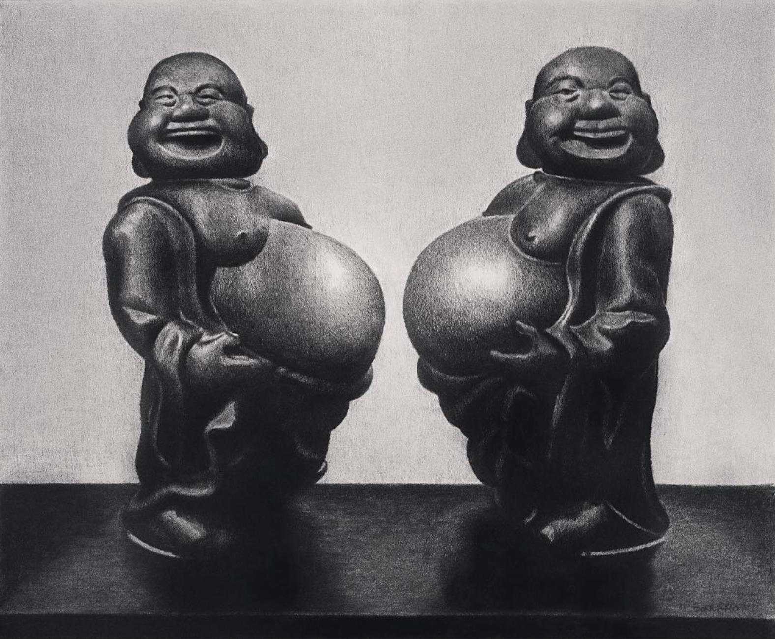Dueling Buddhas
