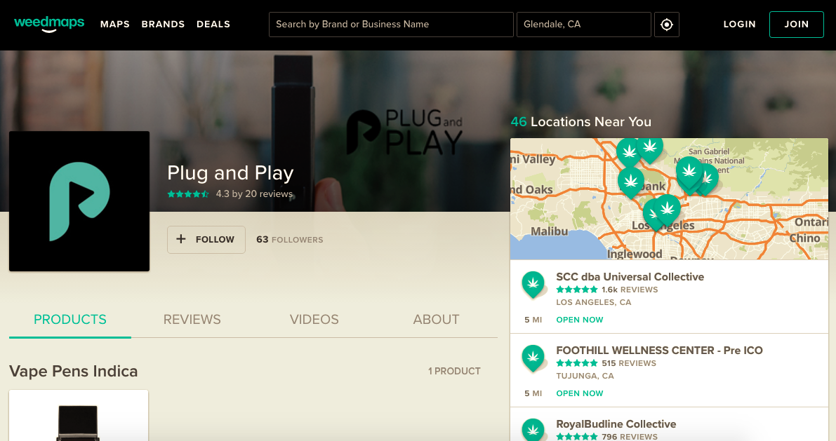plug and play vape weedmaps