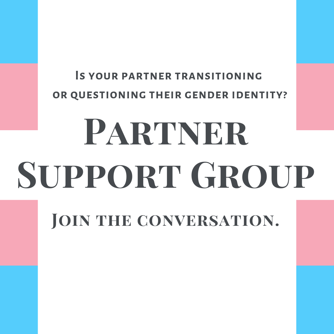 Online support group for partners of trans and non-binary