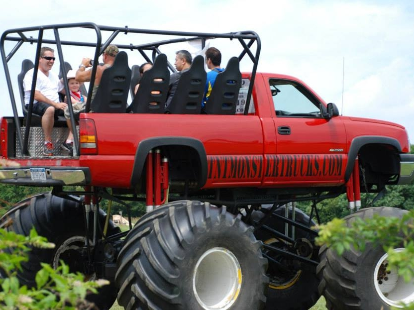 Monster Truck Rides are kind of our thing if you haven'y heard. Rides by TNT Monster Trucks run all weekend