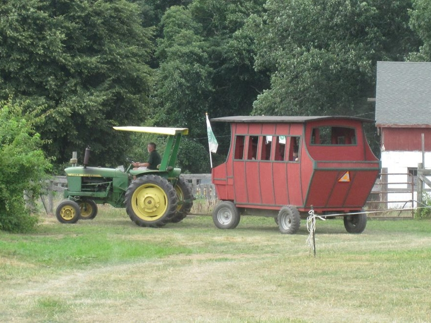 Enjoy FREE Hayrides and a tour of the Dorothy P. Flint 4H Camp.