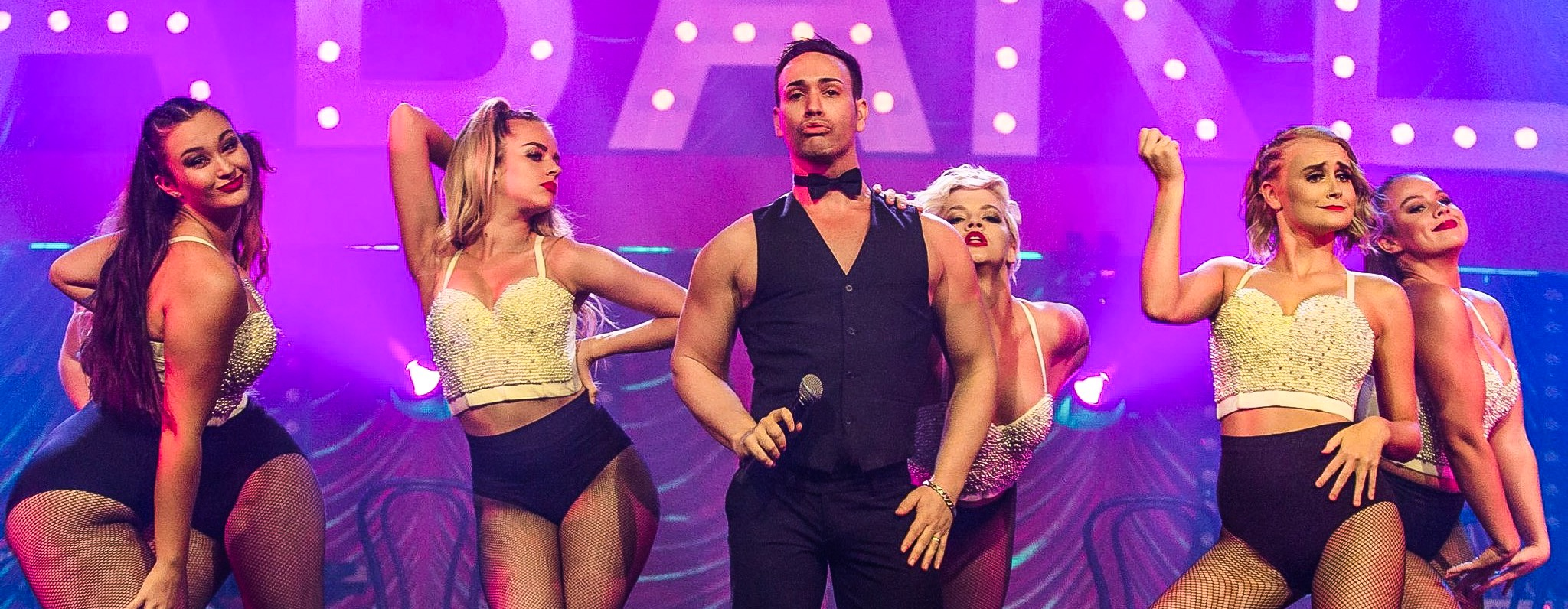 FEATURED SHOW  - from Ricky Martin to Cabaret or a Musical Theatre Showstopper. We will delivery a sensory overload to take your Event to the next level ; lights, camera, dances, costumes action!!