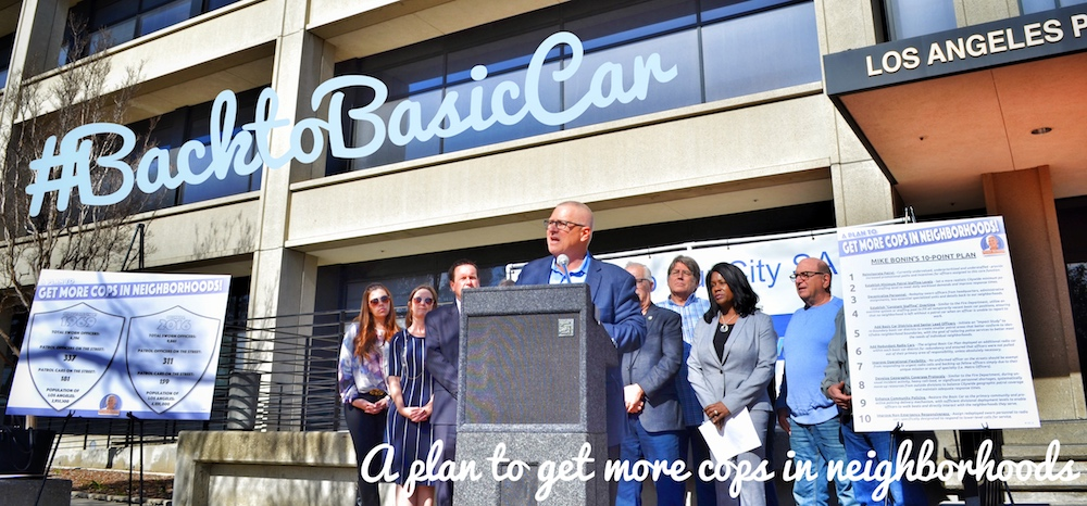 "Mike Announces ""Back to Basic Car"" Plan for More Cops in Neighborhoods"