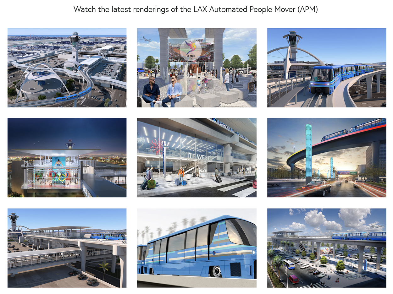 Click on the above image to watch the latest renderings of the LAX Automated People Mover (APM)