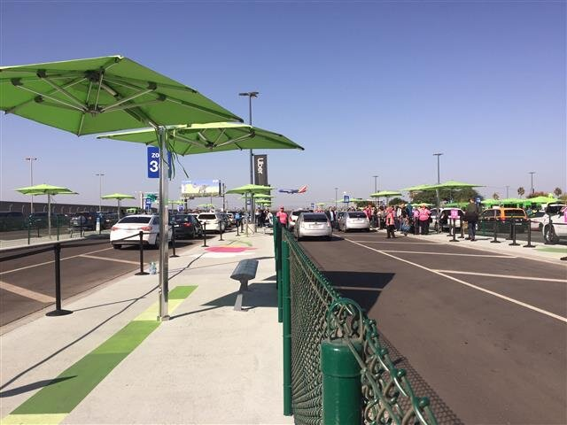 The opening of LAX-it on Tuesday moved taxi and ride app pickups out of the Central Terminal Area.
