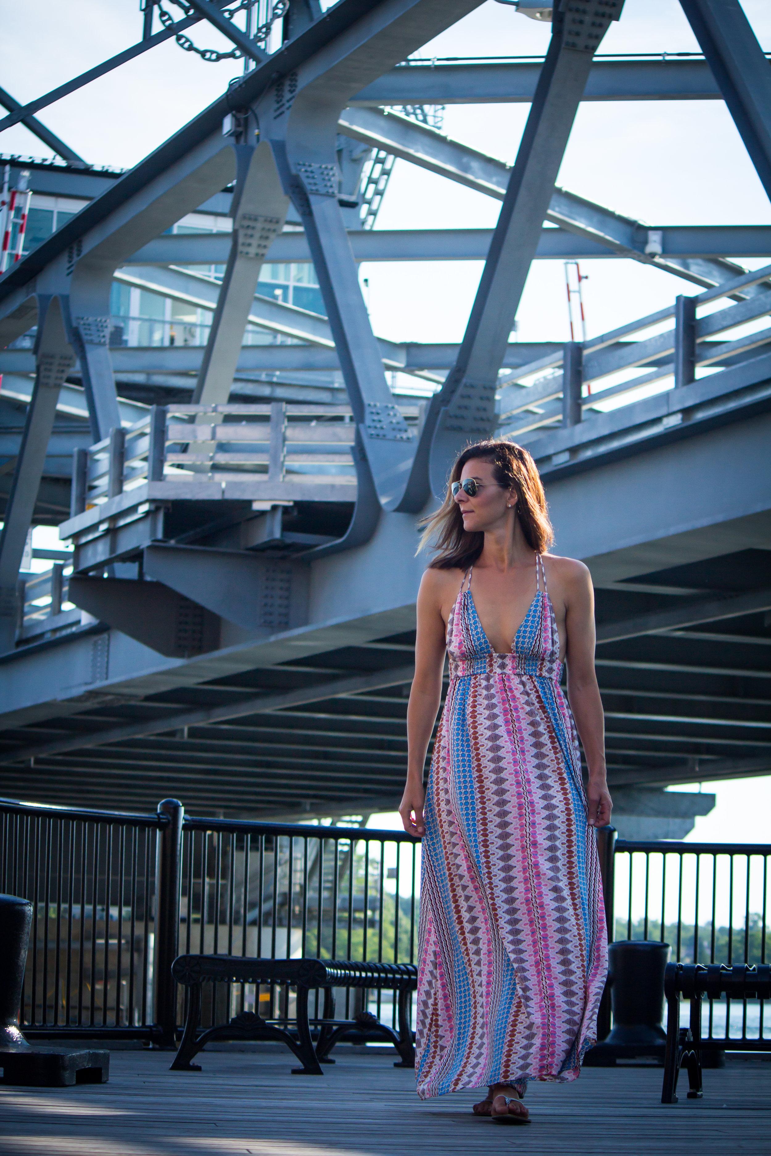 Printed Maxi Dress - Lulus Maxi Dress - Maxi Dress Outfits - Summer Maxi Dresses - Multi-colored Maxi Dresses - Summer Dress Outfits #heartandseam #lulus  www.heartandseam.com