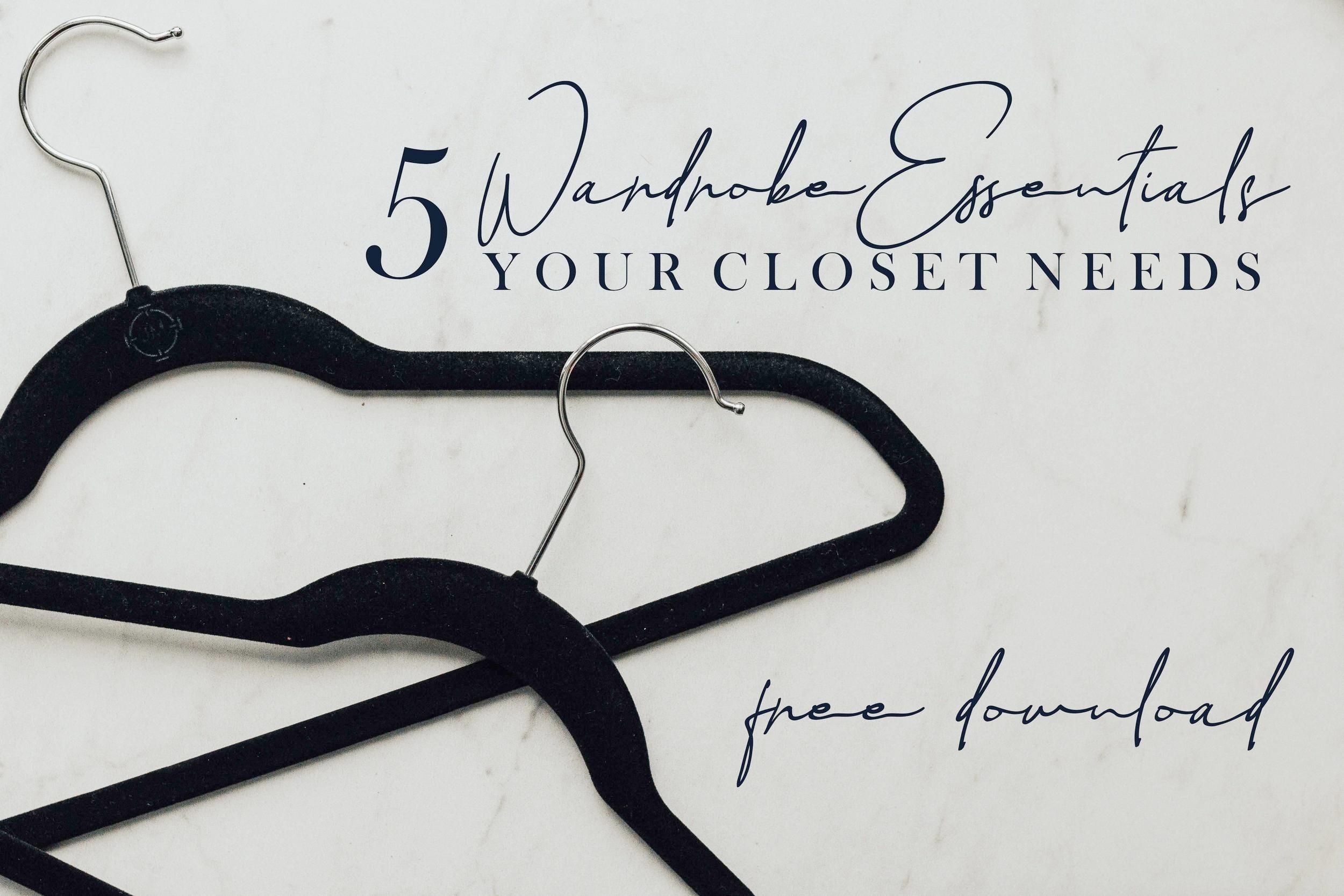 Wardrobe Essentials- Closet Essentials- Women's Fashion- Heart and Seam Style Blog- www.heartandseam.com - #hearandseam #wardrobeessentials