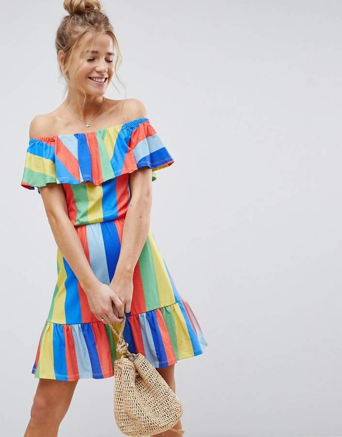 Off-the-Shoulder - Such a fun & flirty dress.