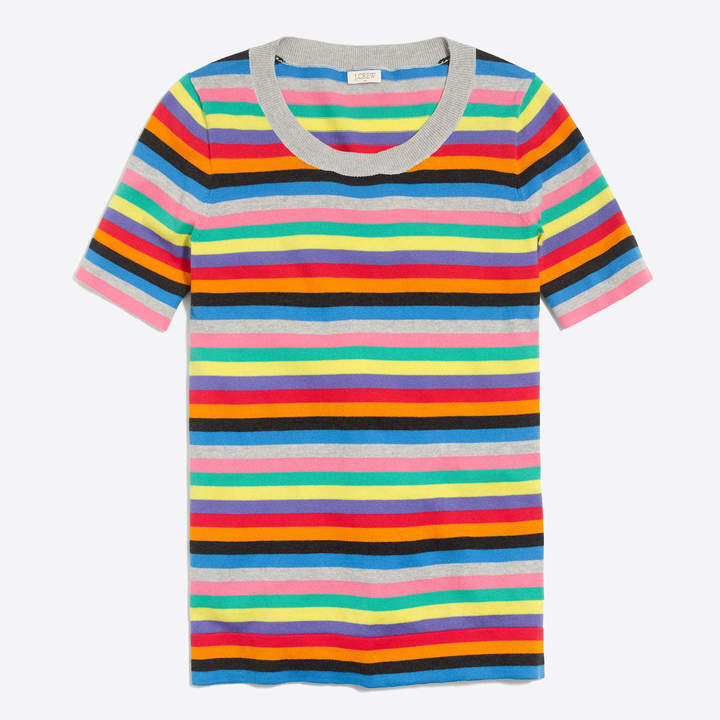Striped Sweater - Love this bright lightweight sweater.