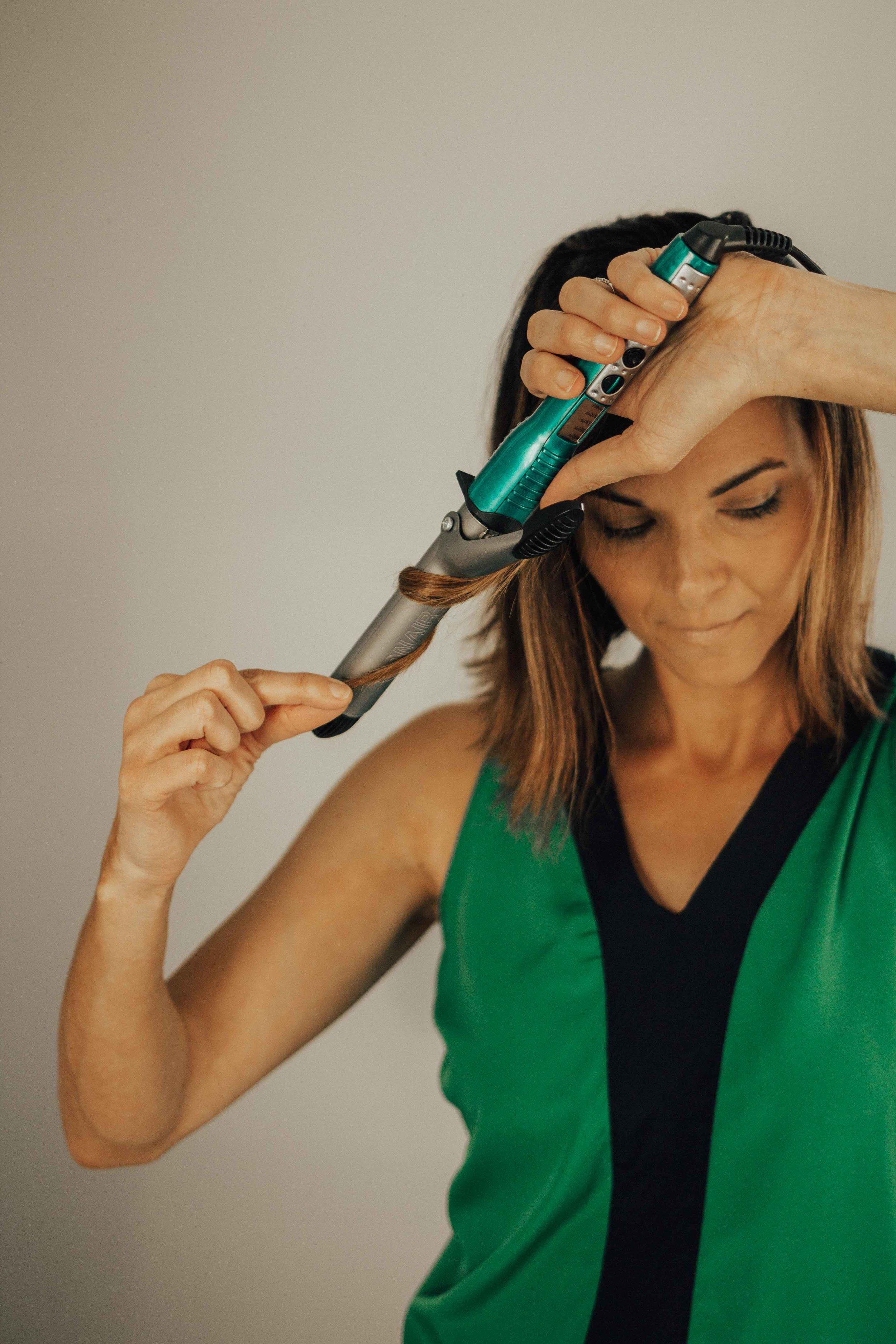 Hair Tutorial - Beachy Waves Tutorial - Virtue Haircare - Bob Hair Tutorial -  www.heartandseam.com  #heartandseam